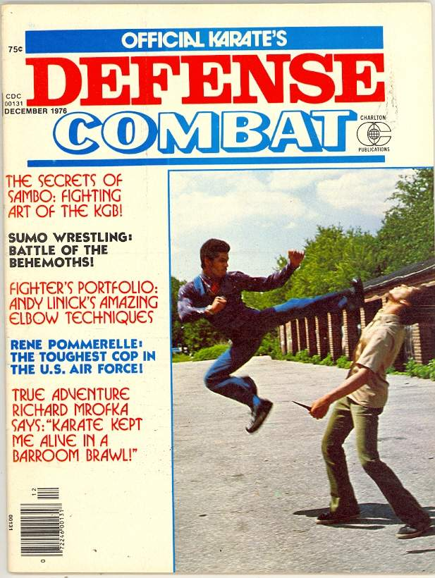 12/76 Official Karate Defense Combat